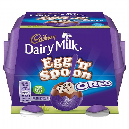 Cadbury Dairy Milk Egg 'n' Spoon with Oreo 136g